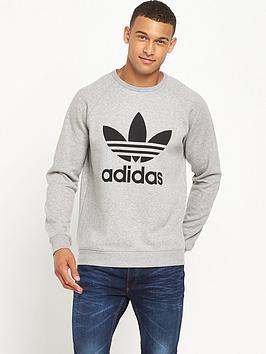 Adidas Originals Trefoil Crew Neck Sweat