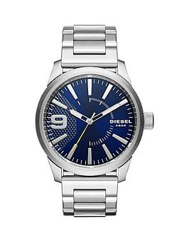 diesel-diesel-rasp-blue-dial-stainless-steel-bracelet-mens-watch