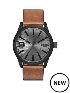 diesel-diesel-rasp-grey-dial-tan-leather-strap-mens-watch