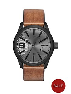 diesel-diesel-rasp-grey-dial-tan-leather-strap-mens-watch