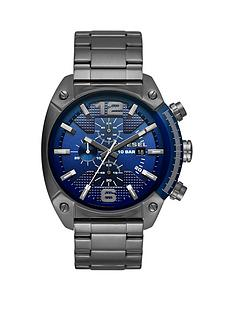 diesel-diesel-overflow-advanced-blue-dial-chronograph-gum-metal-stainless-steel-bracelet-mens-watch