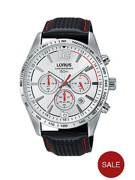 lorus-lorus-silver-dial-silver-tone-case-chronograph-black-leather-strap-mens-watch