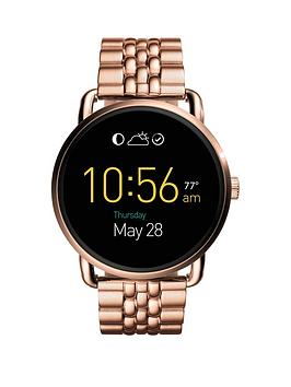 fossil-fossil-q-wander-display-dial-rose-tone-braclet-smart-watch