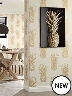 arthouse-copacabana-gold-wallpaper