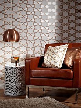 ARTHOUSE Arthouse Rio Wallpaper &Ndash; Copper Picture