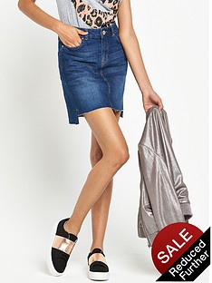 river-island-a-line-step-hem-denim-mini-skirt