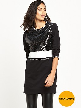 river-island-sequin-oversized-sweat-top