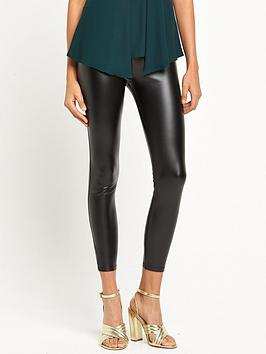 river-island-high-waisted-coated-legging