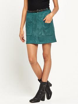 river-island-suedette-skirt