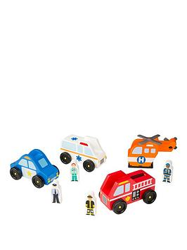 melissa-doug-emergency-vehicle-set