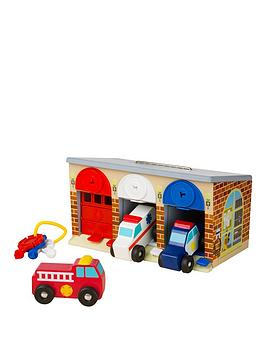 Melissa & Doug Lock &Amp Roll Rescue Garage