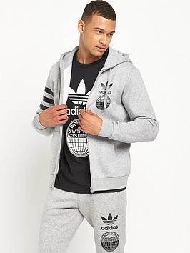 Adidas Originals Street Graph Full Zip Hoodie
