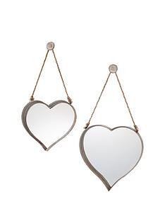 gallery-set-of-2-vintage-metal-heart-mirrors