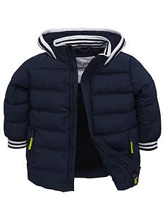 mini-v-by-very-boys-stripe-tipped-shorter-padded-coat