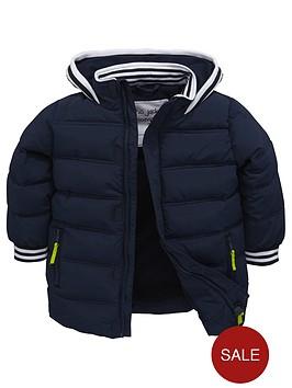 mini-v-by-very-boys-stripe-tipped-shorter-padded-coat