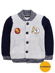 mini-v-by-very-boys-baseball-badge-cardigan