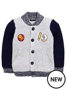 mini-v-by-very-boys-baseball-badge-cardigan