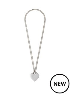 pilgrim-silver-plated-polished-heart-2-in-1-necklace