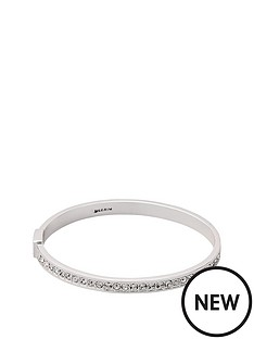 pilgrim-silver-plated-crystal-set-bangle