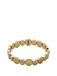 pilgrim-gold-plated-crystal-disc-stretch-bracelet