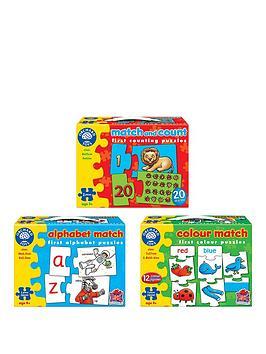 orchard-triple-pack-puzzles-alphabet-match-colour-match-match-amp-count