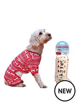 cupid-comet-medium-festive-pyjamas-amp-rawhide-stocking