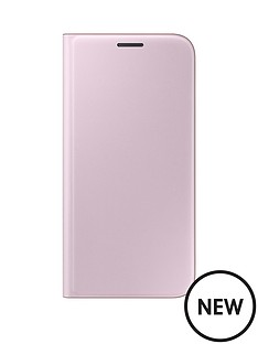 baby-pink-flip-wallet-for-s7-edge