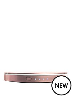 hyper-pearl-make-up-mirror-usb-battery-pack-3000-rose-gold