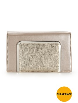 v-by-very-boxie-panel-clutch-bag