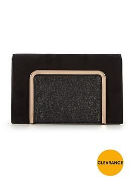 v-by-very-boxie-panel-clutch-bag