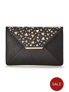 v-by-very-studded-envelope-clutch-bag