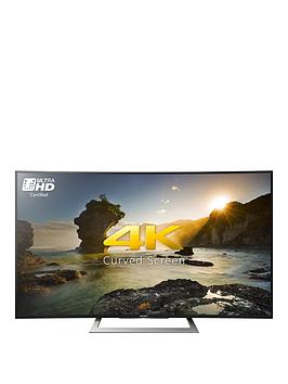 Sony Kd50Sd8005Bu 50 Inch 4K Ultra Hd Hdr Curved Screen Android Smart Led Tv  Black