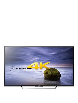 Sony Bravia Kd49Xd7005Bu 49 Inch 4K Ultra Hd Hdr Freeview Hd Android Smart Led Tv  Black