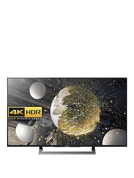 Sony Kd43Xd8088Bu 43 Inch 4K Ultra Hd Hdr Android Smart Led Tv  Black