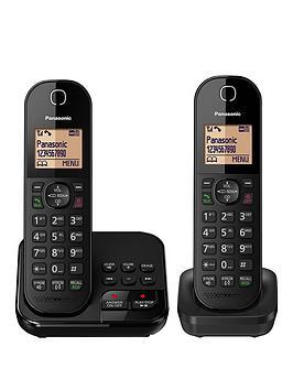 panasonic-kx-tgc422ebnbspcordless-telephone-twin-pack