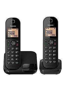 Panasonic KxTgc412Eb  Twin