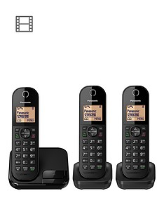 panasonic-kx-tgc413ebnbspdigital-cordless-phone--trio
