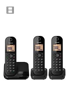 panasonic-kx-tgc413ebnbspdigital-cordless-phone--trio