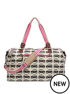 pink-lining-holdall-black-cabs-bag