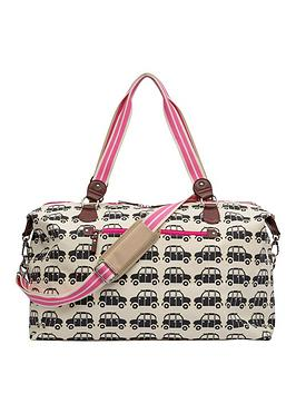 pink-lining-holdall-black-cabs-bag