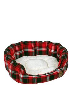 petface-26-inch-tartan-bed