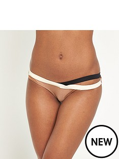 river-island-river-island-metallic-strappy-low-rise-bikini-brief
