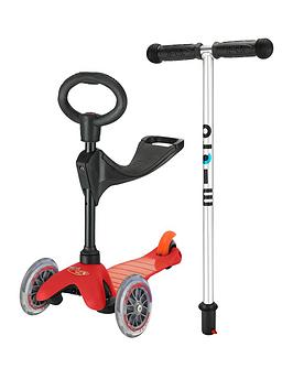 Micro Scooter Mini 3In1 Red