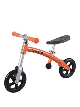 Micro Scooter Balance Bike Orange