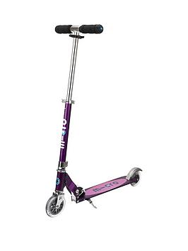 Micro Scooter Micro Sprite Purple Stripe