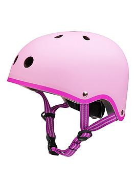 Micro Scooter Micro Safety Helmet Matt Pink Medium