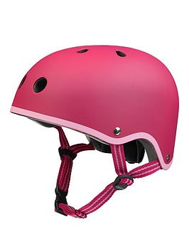 Micro Scooter Micro Safety Helmet Raspberry Medium