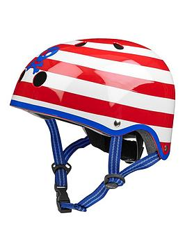 Micro Scooter Micro Safety Helmet Pirate Patterned Medium