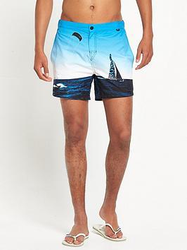 Hugo Boss Blackfish Print Swim Short