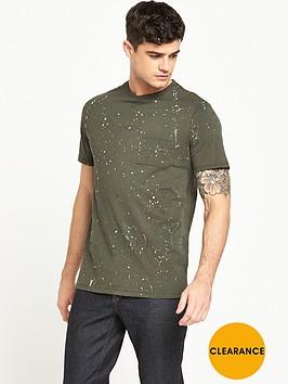 river-island-splatter-print-short-sleeve-tshirt
